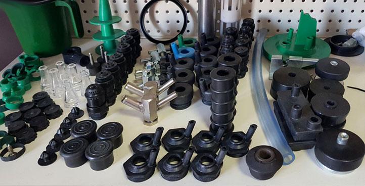 Izrada delova od gume i plastike